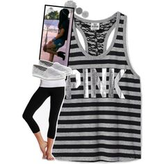 ♥Such a cute workout outfit! Without the shoes of course