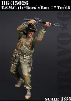 Cheap resin model, Buy Quality scale models directly from China 1 35 model soldiers Suppliers: Scale Models 1/ 35  soldier U.S.M.C. Rock n Roll!, Tet 68 Vietnam soldier    figure Historical WWII Resin Model Free Shipping