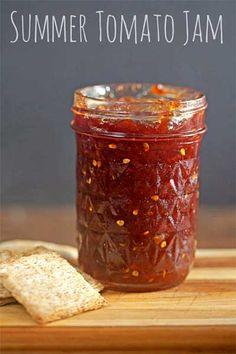 Summer Tomato Jam Recipe                                                       …
