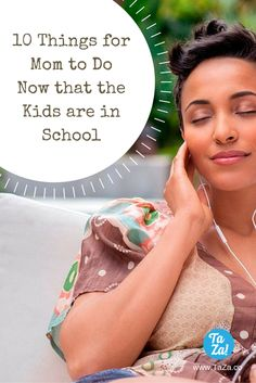 School has started and Mom's now have a lot of free time on their hands. Here are some things Mom's do when the kids are in school! Please read and share! #momsdayout #parenting #momtime #schooldays
