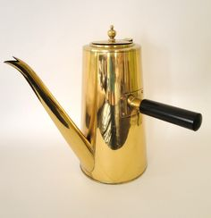 Vintage Brass Coffee Pot