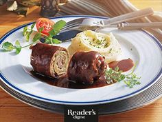Rindsrouladen Food And Drink, Beef, Recipes, Easy Meals, Food And Drinks, Food Food, Rezepte, Meat, Food Recipes