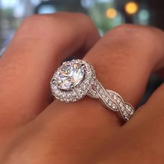 """How heavenly is this halo?!  just one of the beauties that will earn you $500 credit upon purchase at our designer trunk show - link in bio!"""