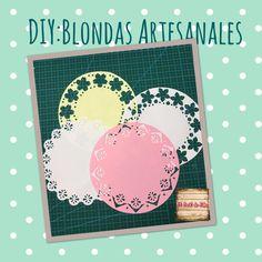 Blondas artesanales/hechas a mano/feitoamao/handmade