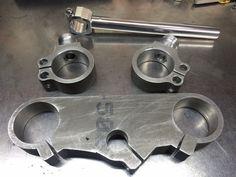 Mecanizados para proyecto Honda CB 750-Black Baron, más información y fotos a través del siguiente enlace; )