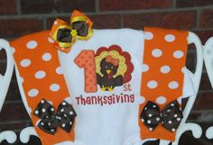 Items similar to Baby Girl Thanksgiving Outfit/ First Thanksgiving outfit for baby girl/ Thanksgiving turkey outfit/Baby Girl My Thanksgiving outfit on Etsy Baby Girl Thanksgiving Outfit, First Thanksgiving, Leg Warmers Outfit, Silhouette Projects, Baby Cribs, Little Darlings, Little Miss, Winter Outfits, Monogram