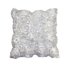 Rose Embroidered Pillow Case Wedding Supplies Pillowcase Home Sofa Cushion Cover 42*42cm Complete Range Of Articles Table & Sofa Linens