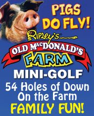 Ripley's Old McDonald's Farm Mini-Golf #Sevierville #Sponsored