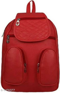 Bags & Backpacks Elegance PU Unisex Backpack Material: PU Size: Free Size Number Of Compartments: 5 Description : It Has 1 Piece Of Unisex Backpack Pattern: Solid Country of Origin: India Sizes Available: Free Size   Catalog Rating: ★4.1 (442)  Catalog Name: Myhra Elegance PU Unisex Backpacks CatalogID_191414 C65-SC1234 Code: 803-1474377-855