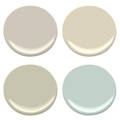 New house neutral paint palette?  Benjamin Moore Revere Pewter, Manchester Tan, Spanish Olive, Palladian Blue
