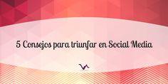 ¿Quieres triunfar en #SocialMedia? ¡Sigue estos consejos! --> http://unbi.co.ve/fSRZf?utm_content=buffera4c00&utm_medium=social&utm_source=pinterest.com&utm_campaign=buffer #TipSocialMedia