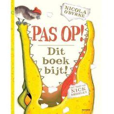 pas op! dit boek bijt! uitgeverij gottmer | ilovespeelgoed.nl