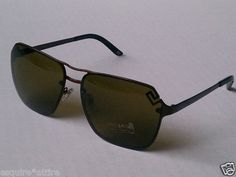 Versace Men Sunglasses MOD. 2114 Brown Metal (60x14x140)