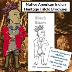 This set of trifold brochures features 39 diverse historical and modern Native American Indian Heritage leaders that have contributed to U.S. History in various ways. These brochures are a perfect way to ensure your students are keeping their information organized and focusing on the most important ... Social Studies Lesson Plans, 5th Grade Social Studies, Social Studies Classroom, Social Studies Activities, History Activities, Teaching Social Studies, Teaching Tools, Native American Heritage Month, Indian Heritage