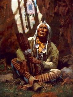 Howard Terpning was born in Oak Park, IL on Nov. 5th, 1927. He loved to draw as a child and by the age of 7 he knew in his heart that he wan...