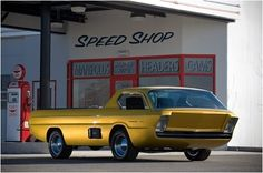 dodge concept, it's a Deora! windshield is from the back glass of a wagon...love this
