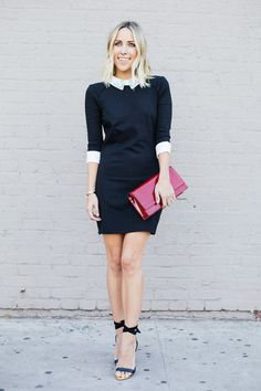 Holiday Party Outfit Ideas | Decorated Collar