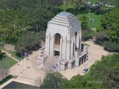 Anzac War Memorial in Hyde Park, Sydney Australia.. At least I have been able to visit this place..!