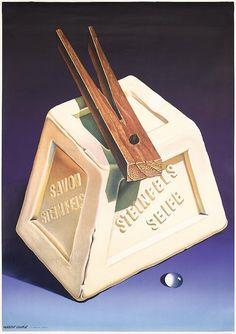 Herbert Leupin, Steinfels soap, 1943