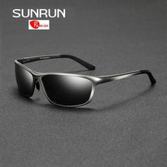 Men's Sunglasses 2019 Rectangle Men Polarized Sunglases Black/brown/siliver Color Metal Frame Uv400 Male Glasse Come With Box Free Shipping Nourishing Blood And Adjusting Spirit