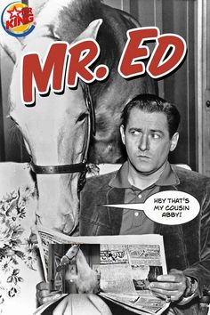 Loved watching Mr. Ed when home sick from school. Now I sing the theme song to my husband, lol.