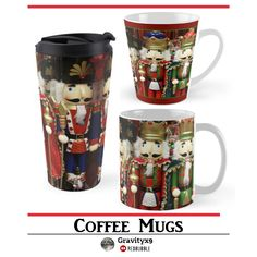 Wise Cracker Christmas Nutcracker Coffee Mug by #Gravityx9 at Redbubble - Just a bunch of Wise Crackers - • Also buy this artwork on home decor, apparel, stickers, and more. #christmasmug #christmas #Nutcrackers #Nutcrackermugs #christmassoldiers #ilovexmas #christmasshopping