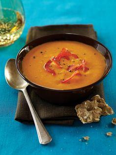 Red Pepper-Carrot Soup Recipe | Vegetarian Times