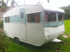 CLASSIC VINTAGE 1955 CARAVAN unique, scratchbuilt, used regularly, ready to go!!