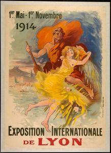 Exposition internationale de Lyon 1914 (Exhibition posters France) #Booktower