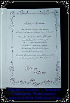CreativDS - Gästebuch Hochzeit,Geschenk,Beere GB 585