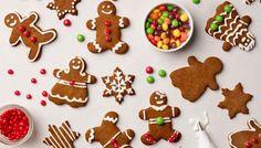 Galletas de navidad con niños. Galletas de navidad faciles. Galletas de navidad jengibre decoradas Como hacer galletas de navidad paso a paso