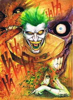 Arkham Riot by ~KidNotorious on deviantART