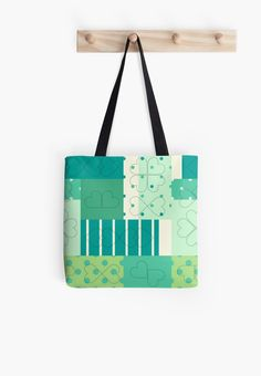 Tote bag. Artwork: Thoughtful threadish by Anna Sköld at Lumumma infodesign. Check out more products with this artwork on, at www.redbubble.com/people/lumumma/shop