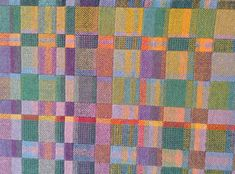 Water Lilies (detail) by Ruth Buchman Complexity 2014 | Complex Weavers