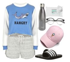 """Week 1 of school over :)"" by darling-ange1 ❤ liked on Polyvore featuring Calvin Klein, Topshop, S'well, Sephora Collection, Concord and adidas"