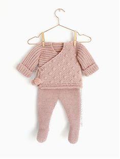 NEO Crochet Baby Kimono Jacket [ Baby Knitting Pattern & Tutorial ]