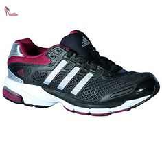Adidas lIGHTSTER éclairage avant pour vélo cUSHION w-black/silver/triber FR:42 - Chaussures adidas (*Partner-Link)