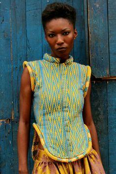 baoule royal vest | loza maleombho
