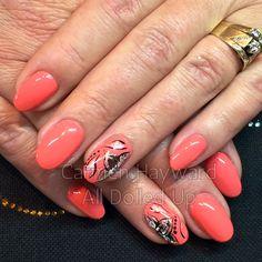 Amore Elite Coral Crush Amore Ultima gel nails