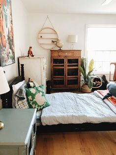Excited to share a home tour of our new space!!      Here is our sweet dino-loving boy, Aiden's room!        Since Aiden was old enoug...
