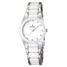 Bracelet ceramique blanc pour montre