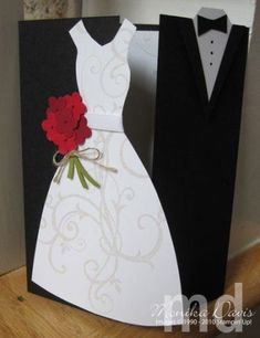 Stampin' Up! Wedding Card by noemi