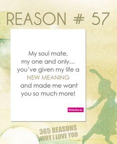 Reason why I love you # 57