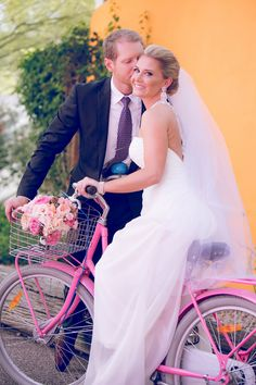 Love the pink bike!