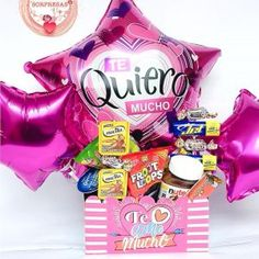 Diy Birthday Box, Birthday Gift Baskets, Birthday Gifts, Diy Father's Day Gifts, Father's Day Diy, Candy Centerpieces, Balloon Decorations, Personalised Gifts Diy, Edible Bouquets