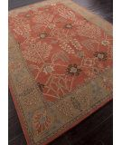 RugStudio presents Addison And Banks Hand Tufted Abr0575 Orange Rust / Gold Brown Hand-Tufted, Better Quality Area Rug