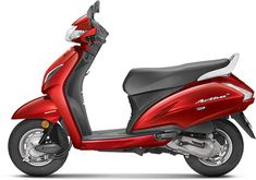 Images of Honda Activa Photos of Activa - BikeWale red color activa - Red Things Honda Scooter Models, Honda Scooters, Honda Motorcycles, Color Shades, Red Color, Yellow And Brown, Red And Blue, New Honda, Metallic Colors