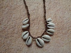 Moana inspired shell necklace by TinkerGirlBoutique on Etsy