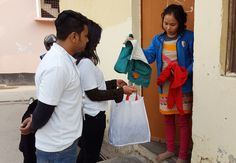 We collect #oldwinterclothes from all over the #Delhi to help the unprivileged children & needy people.