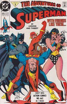 Rare Comic Books, Vintage Comic Books, Vintage Comics, Comic Book Covers, Comic Book Heroes, Superman Comic, Superman Characters, Superman Logo, Book Characters
